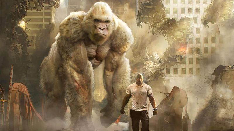 Rampage, animali giganti e città in pericolo