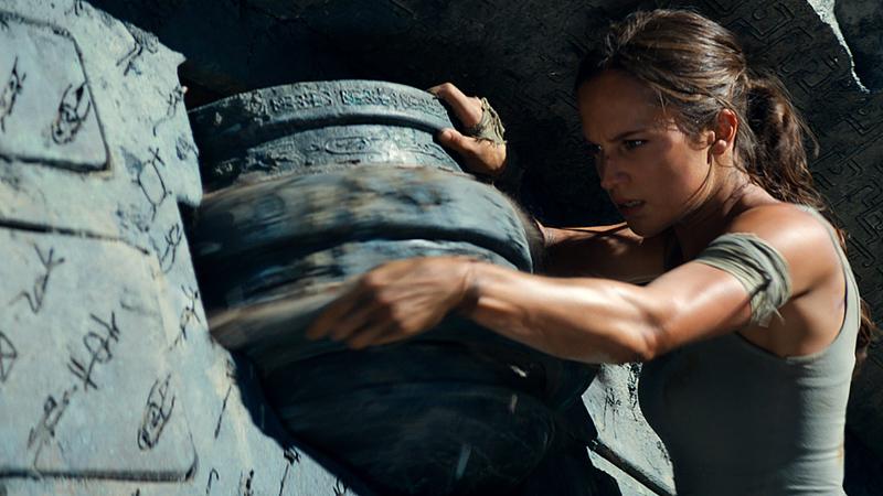 Box office, il maggior numero di spettatori è per Tomb Raider