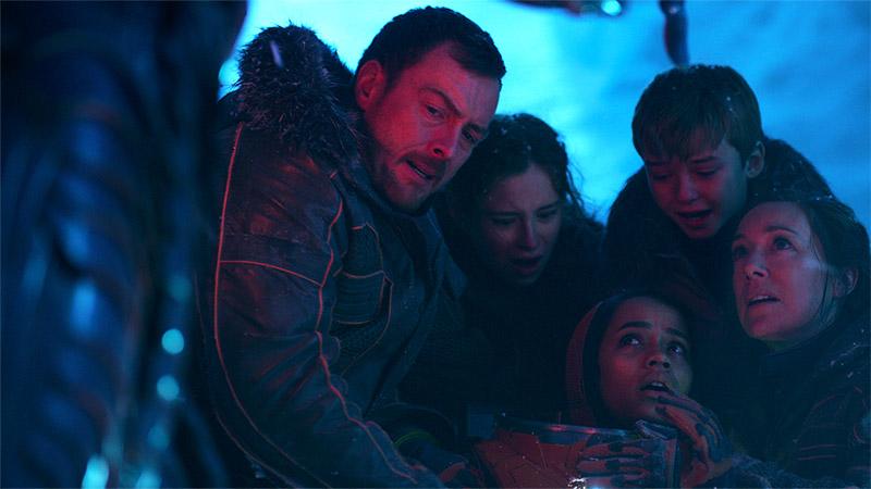 I Robinson, la famiglia protagonista di Lost in Space