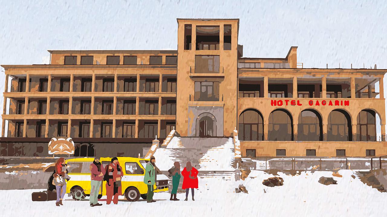 -  Dall'articolo: Hotel Gagarin, trailer e poster del film di Simone Spada.