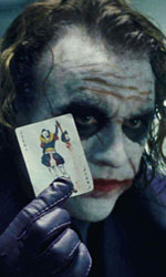 In foto Heath Ledger (41 anni) Dall'articolo: Il cavaliere oscuro, il film stasera in tv su Italia 1.