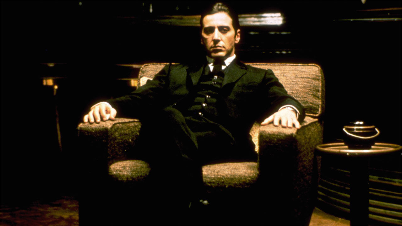 In foto Al Pacino (79 anni) Dall'articolo: Il padrino, il film stasera in tv su Iris.