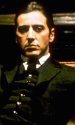 In foto Al Pacino (78 anni) Dall'articolo: Il padrino, il film stasera in tv su Iris.