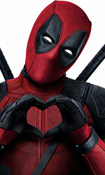 In foto Ryan Reynolds (42 anni) Dall'articolo: 1 milione in 2 giorni: Deadpool 2 si prepara al weekend?.