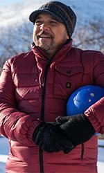 In foto Claudio Amendola (55 anni) Dall'articolo: Hotel Gagarin: «la felicità non entra dalla finestra, ma almeno aprila».