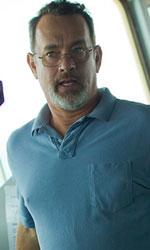 In foto Tom Hanks (62 anni) Dall'articolo: Captain Phillips - Attacco in mare aperto, il film stasera in tv su CineSony.