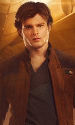 In foto Alden Ehrenreich (29 anni) Dall'articolo: Solo: A Star Wars Story, film ammirevole nella sua classicità.