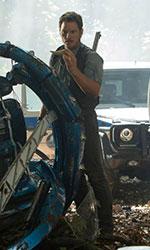 In foto Chris Pratt (39 anni) Dall'articolo: Calma piatta al box office, Jurassic World resta sul trono.
