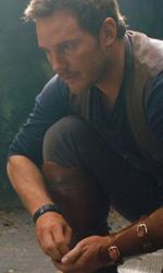 In foto Chris Pratt (39 anni) Dall'articolo: Jurassic World ancora primo. Entrerà nella top ten annuale?.