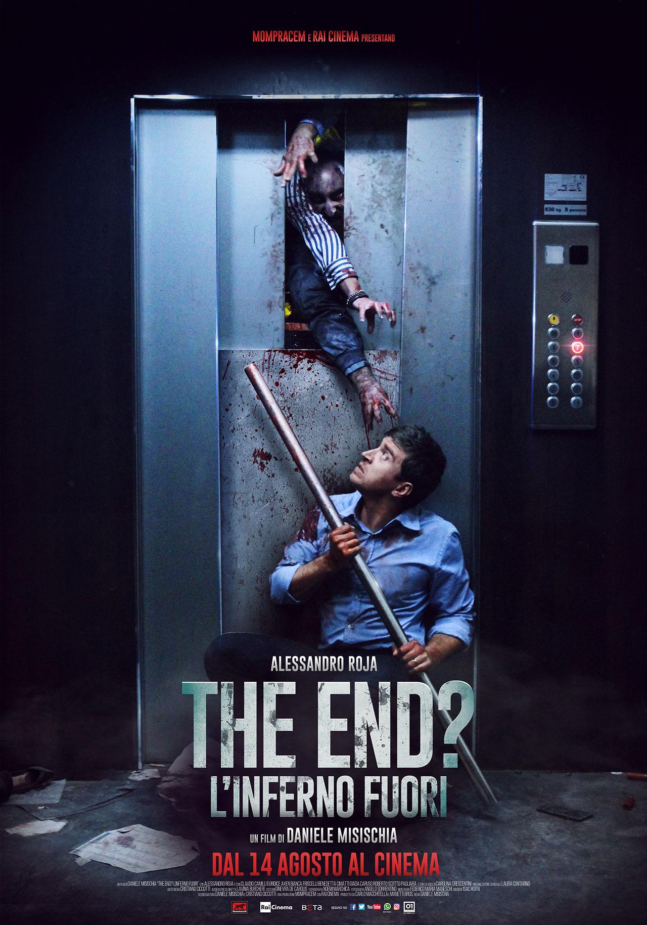 Risultati immagini per the end inferno fuori poster