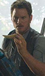 In foto Chris Pratt (39 anni) Dall'articolo: Il prossimo obiettivo di Jurassic World? Il 10° posto nella top ten stagionale.