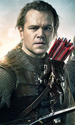 In foto Matt Damon (50 anni) Dall'articolo: The Great Wall, il primo vero blockbuster sino-americano.