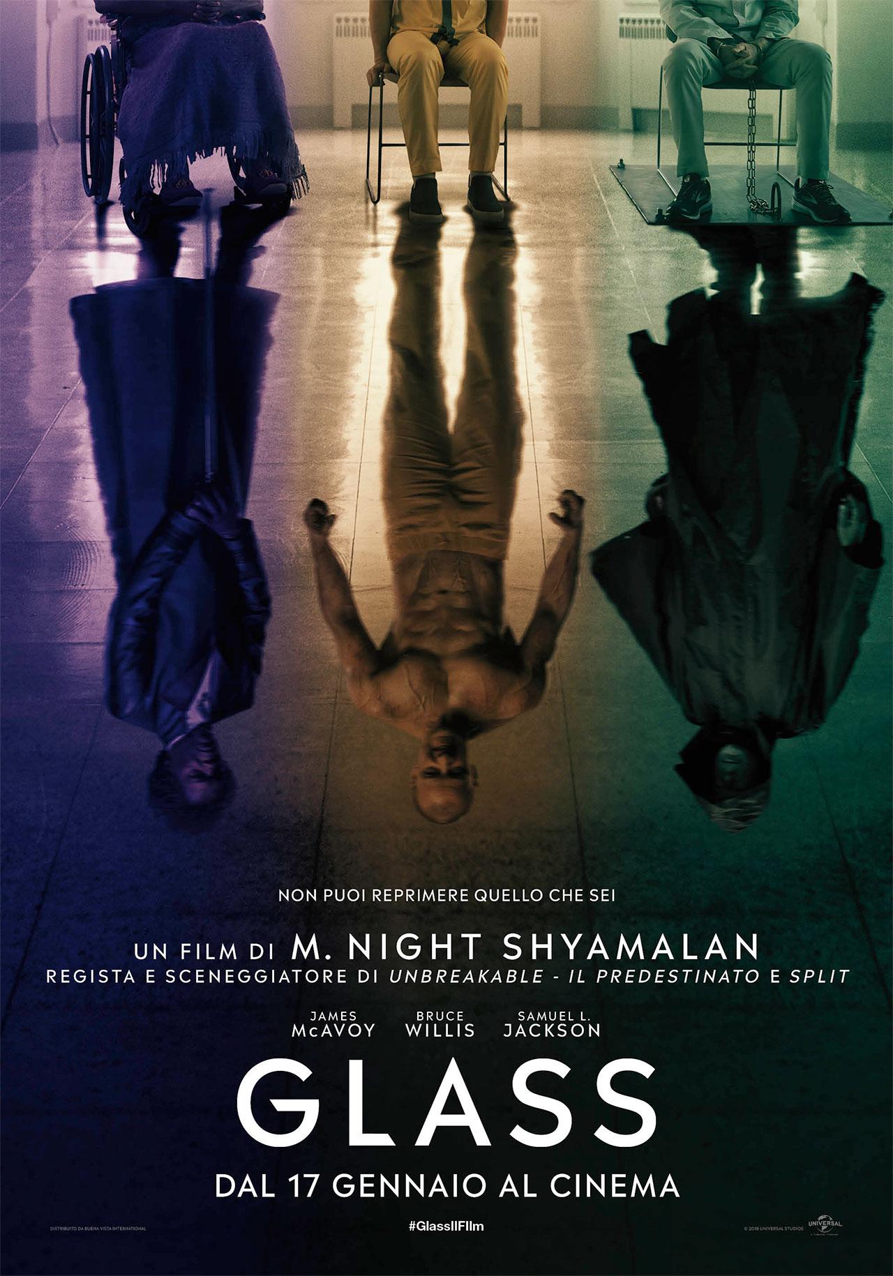 -  Dall'articolo: Glass, il poster del film di M. Night Shyamalan.