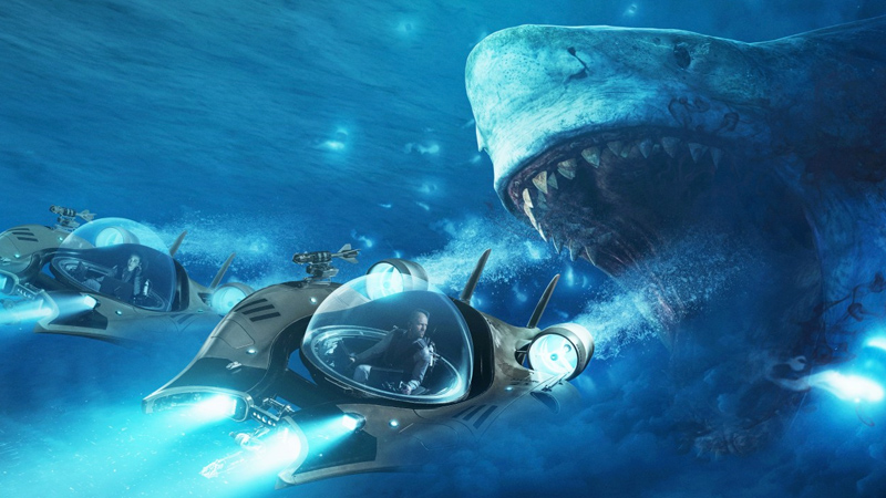 Lo squalo attacca e morde, quasi 500mila Euro per Shark