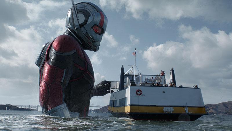 Ant-Man 2 è già a quota 2,3 mln. Il primo capitolo ne incassò 4,7 in totale