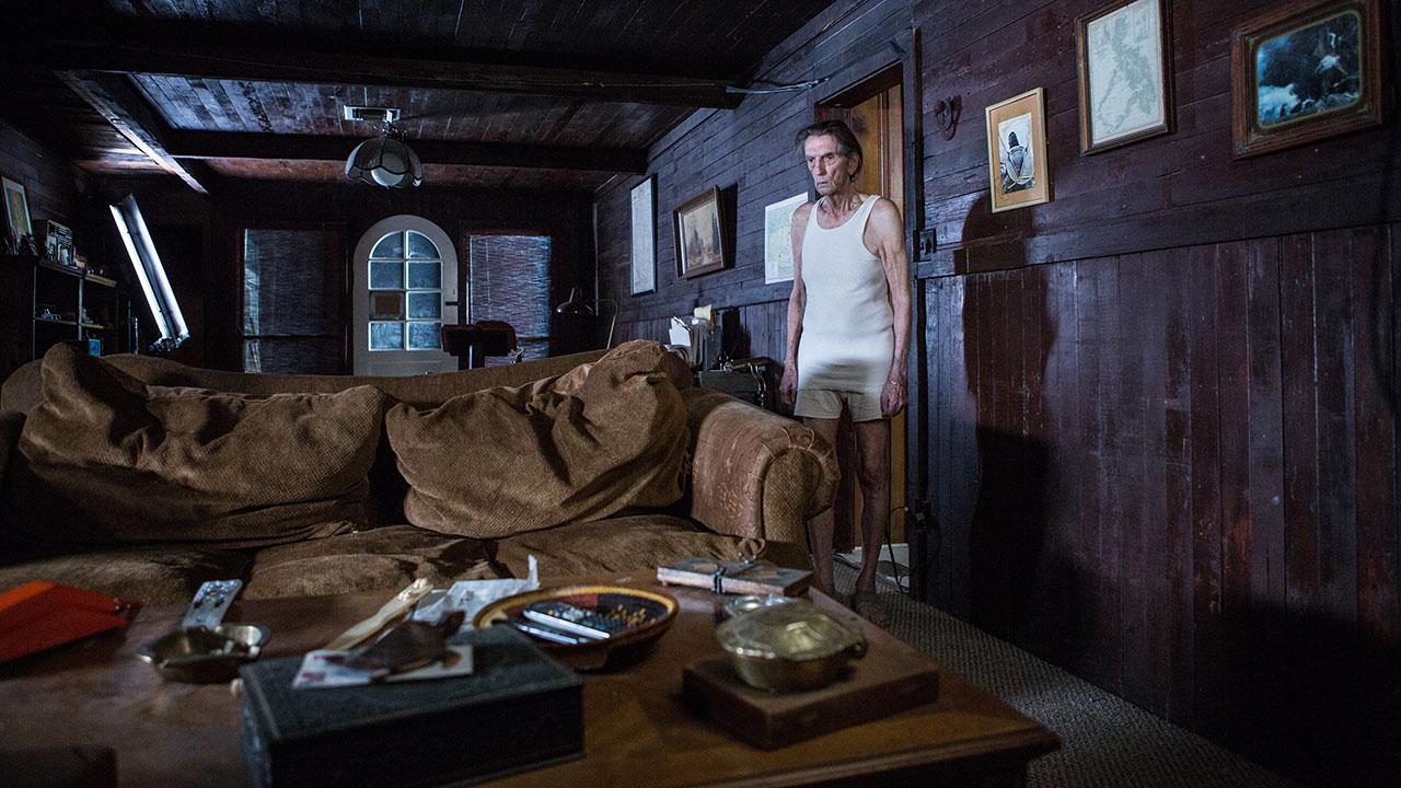 In foto Harry Dean Stanton Dall'articolo: Harry Dean Stanton: Lucky è tutto suo, c'è tutto il suo cinema.