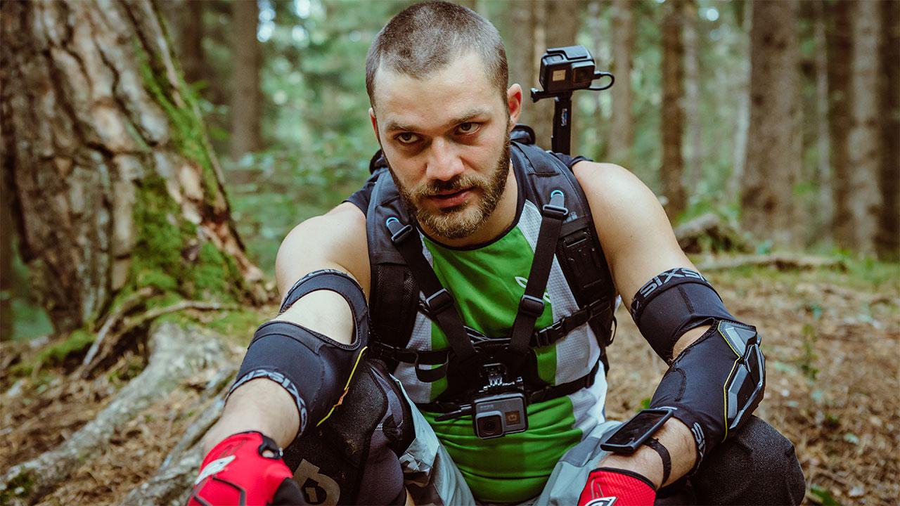 In foto Lorenzo Richelmy (30 anni) Dall'articolo: Ride, la Caccia Selvaggia al tempo dei social e degli sport estremi.