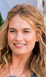 In foto Lily James (29 anni) Dall'articolo: Ci risiamo, Mamma mia è primo al Box Office.