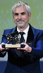 In foto Alfonso Cuarón (58 anni) Dall'articolo: Venezia 75, Leone d'Oro a Roma di Alfonso Cuarón.