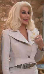 In foto Cher (72 anni) Dall'articolo: Hotel Transylvania 3 perde forza, Mamma Mia! conferma la leadership.