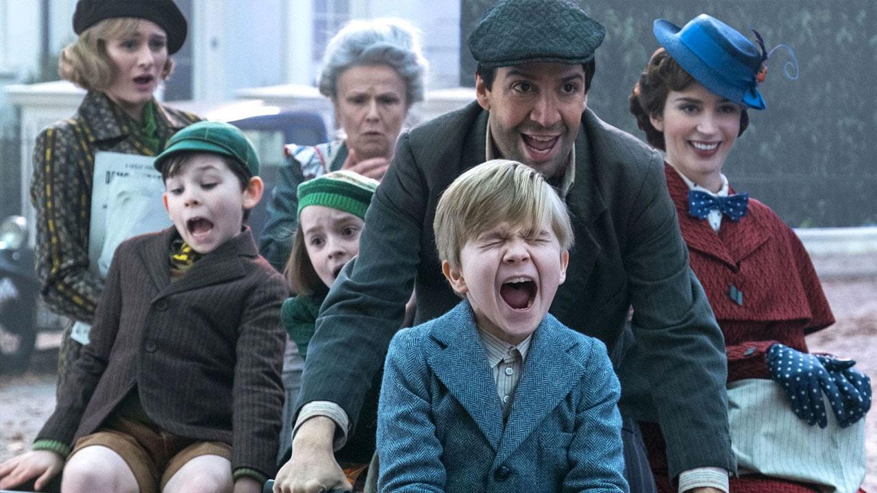 In foto Emily Blunt (38 anni) Dall'articolo: Il ritorno di Mary Poppins, il trailer italiano del film [HD].