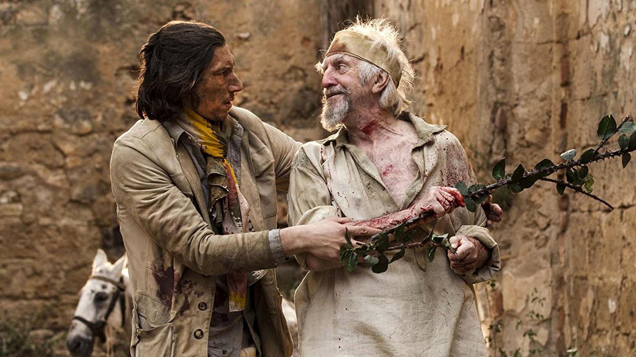 In foto Adam Driver (37 anni) Dall'articolo: L'uomo che uccise Don Chisciotte, il mito di Cervantes vive e prende forma.