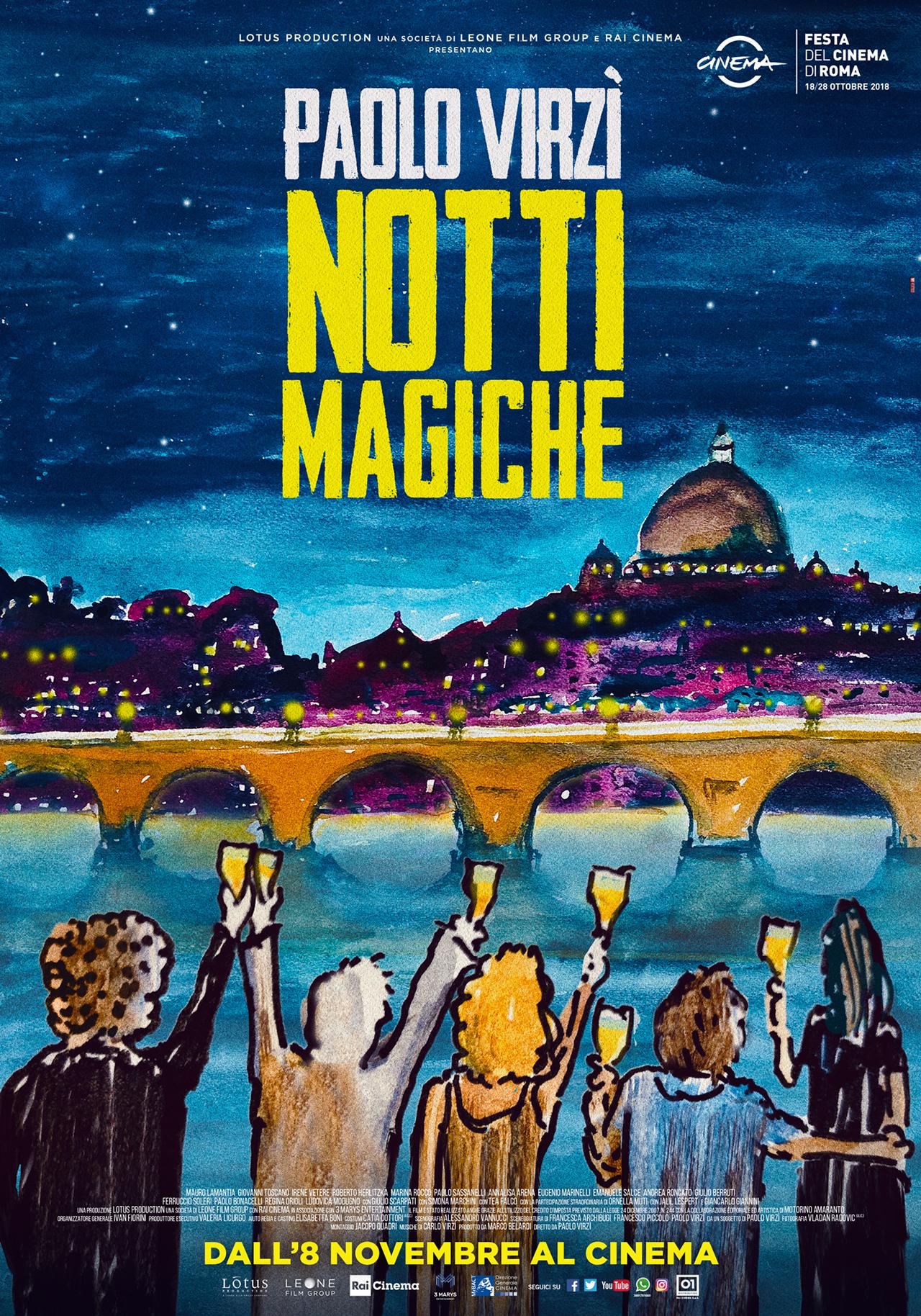 -  Dall'articolo: Notti magiche, il poster ufficiale disegnato da Paolo Virzì.