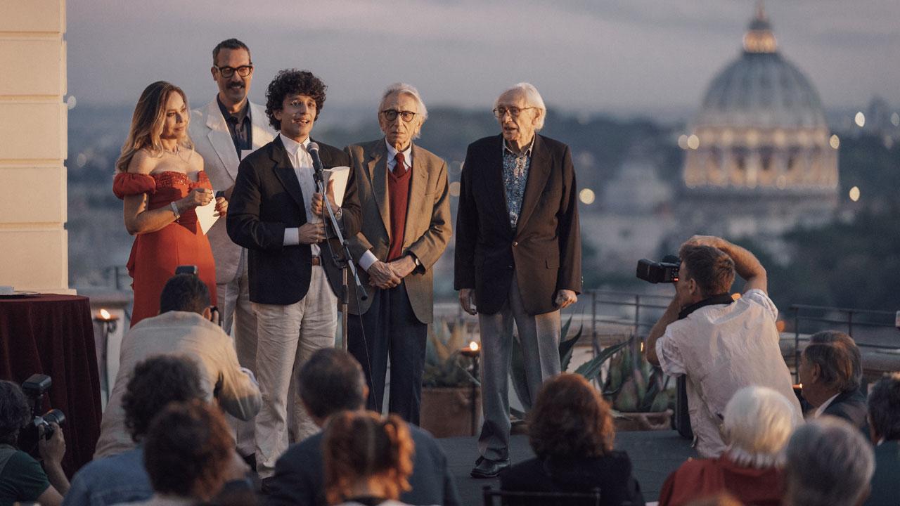 In foto Roberto Herlitzka (82 anni) Dall'articolo: Notti magiche, il trailer ufficiale del film [HD].