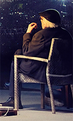 In foto Andrea Camilleri (93 anni) Dall'articolo: Conversazione su Tiresia, il trailer ufficiale del film con Andrea Camilleri.