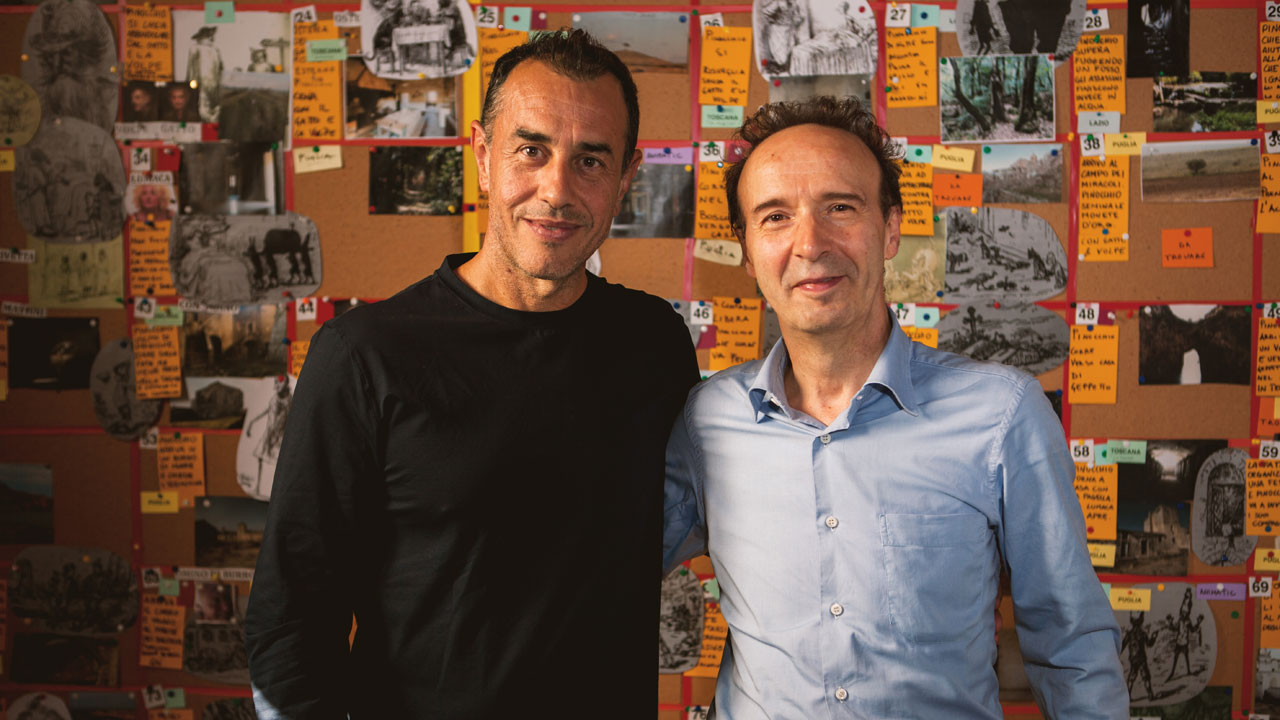 In foto Roberto Benigni (69 anni) Dall'articolo: Roberto Benigni sarà Geppetto in Pinocchio di Matteo Garrone.