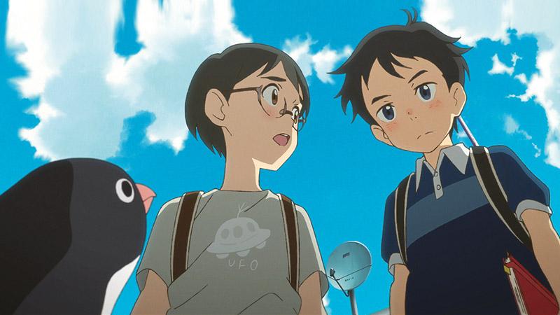 -  Dall'articolo: Penguin Highway, guarda l'inizio del film.