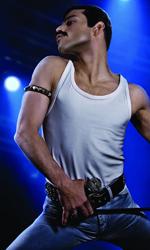 In foto Rami Malek (38 anni) Dall'articolo: Bohemian Rhapsody, esordio memorabile al box office USA.