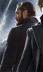 In foto Jude Law (49 anni) Dall'articolo: Animali Fantastici - I crimini di Grindelwald, alta densità di personaggi e colpi di scena.