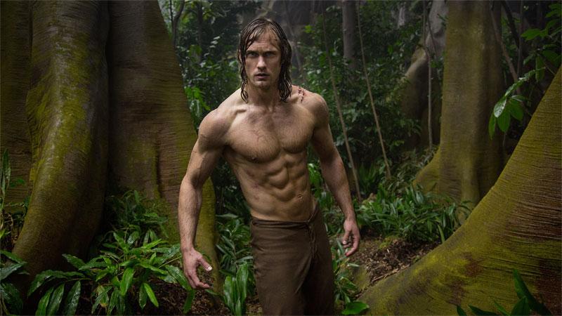 The Legend of Tarzan, la trasformazione di Lord Greystoke in Tarzan