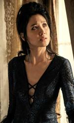 In foto Claudia Kim (36 anni) Dall'articolo: Animali Fantastici - I Crimini di Grindelwald: il box office è tutto suo.
