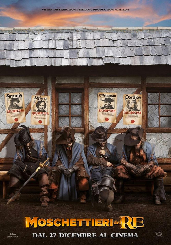 -  Dall'articolo: Moschettieri del Re, il poster italiano del film.