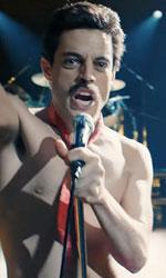 In foto Rami Malek (38 anni) Dall'articolo: I Queen di Bohemian Rhapsody mettono a segno un sabato da 1,7 milioni di euro.