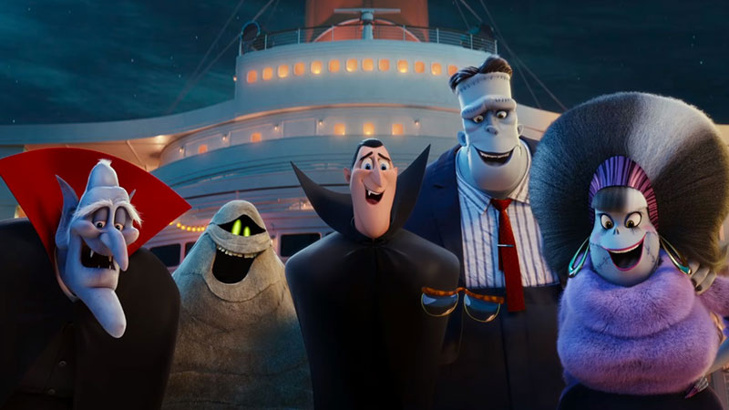 Hotel Transylvania 3, in dvd la vacanza mostruosa di Drac e i suoi amici