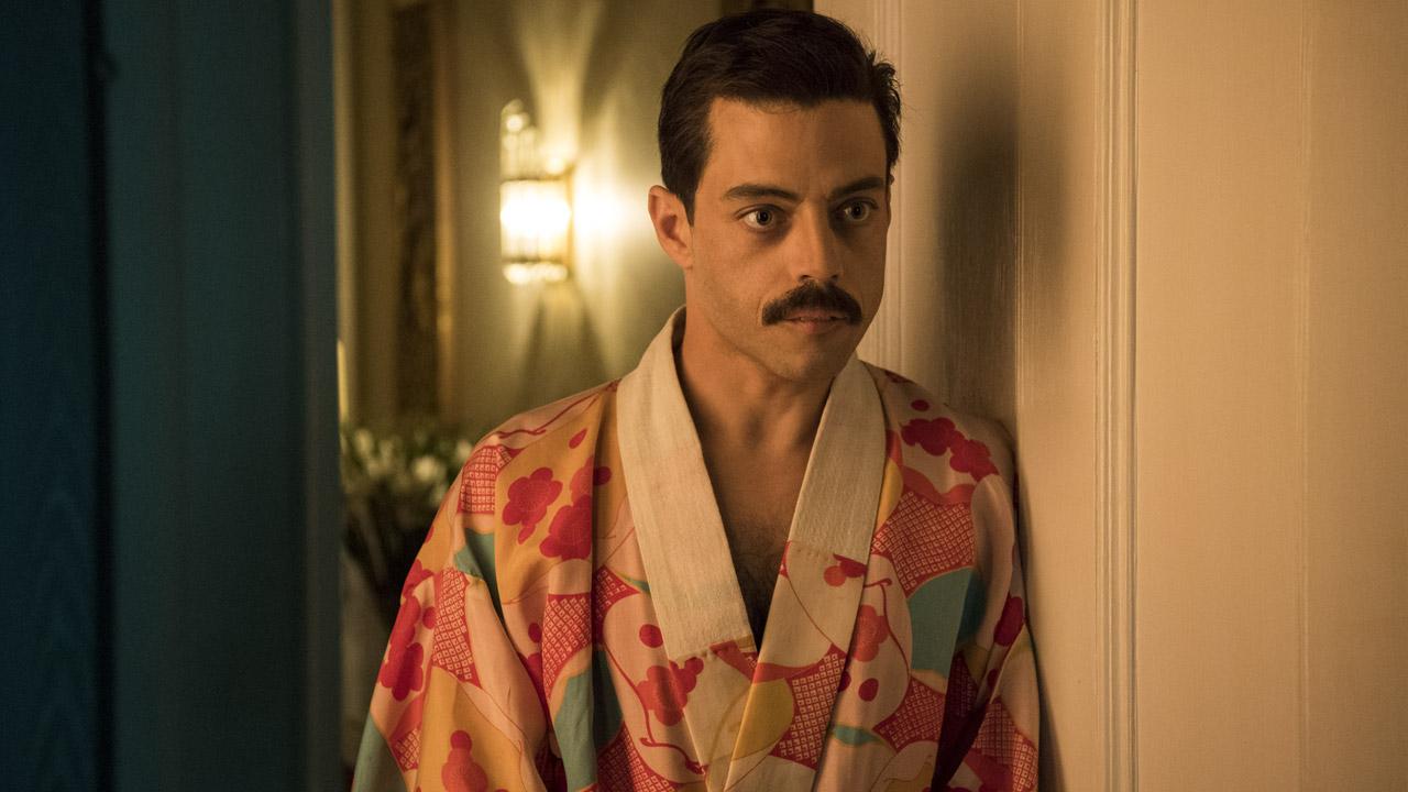 In foto Rami Malek (40 anni) Dall'articolo: Bohemian Rhapsody non si ferma più: il film viaggia verso i 12 milioni.
