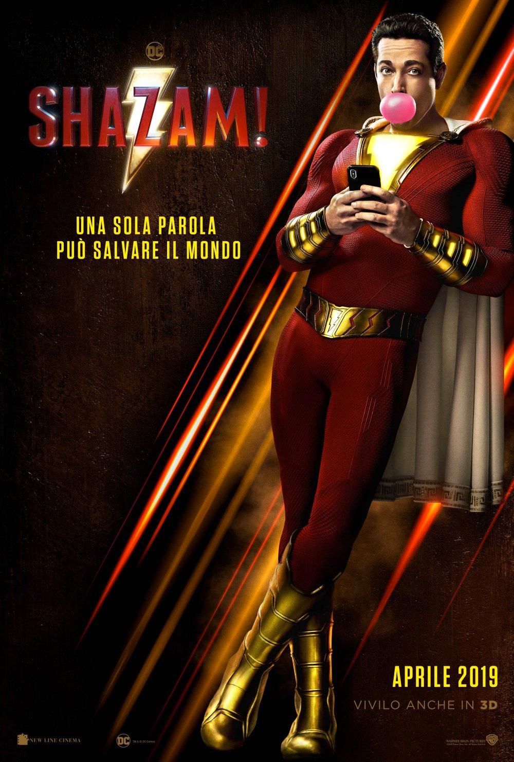 -  Dall'articolo: Shazam!, il poster italiano del film.