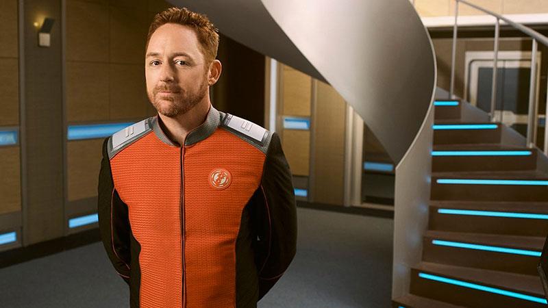 Scott Grimes in The Orville: «Sono pronto per Marte!»