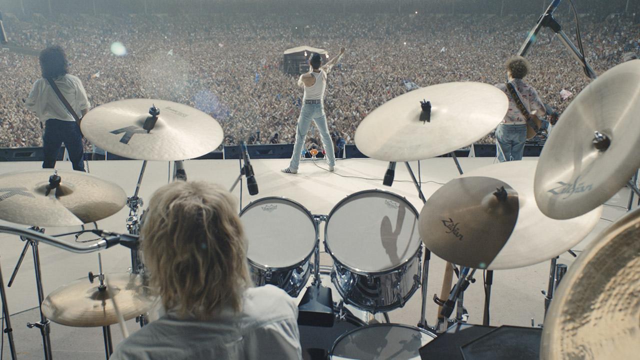 In foto Rami Malek (40 anni) Dall'articolo: Bohemian Rhapsody saldamente in testa a 15 giorni dall'uscita.