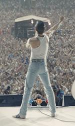 In foto Rami Malek (38 anni) Dall'articolo: Bohemian Rhapsody saldamente in testa a 15 giorni dall'uscita.