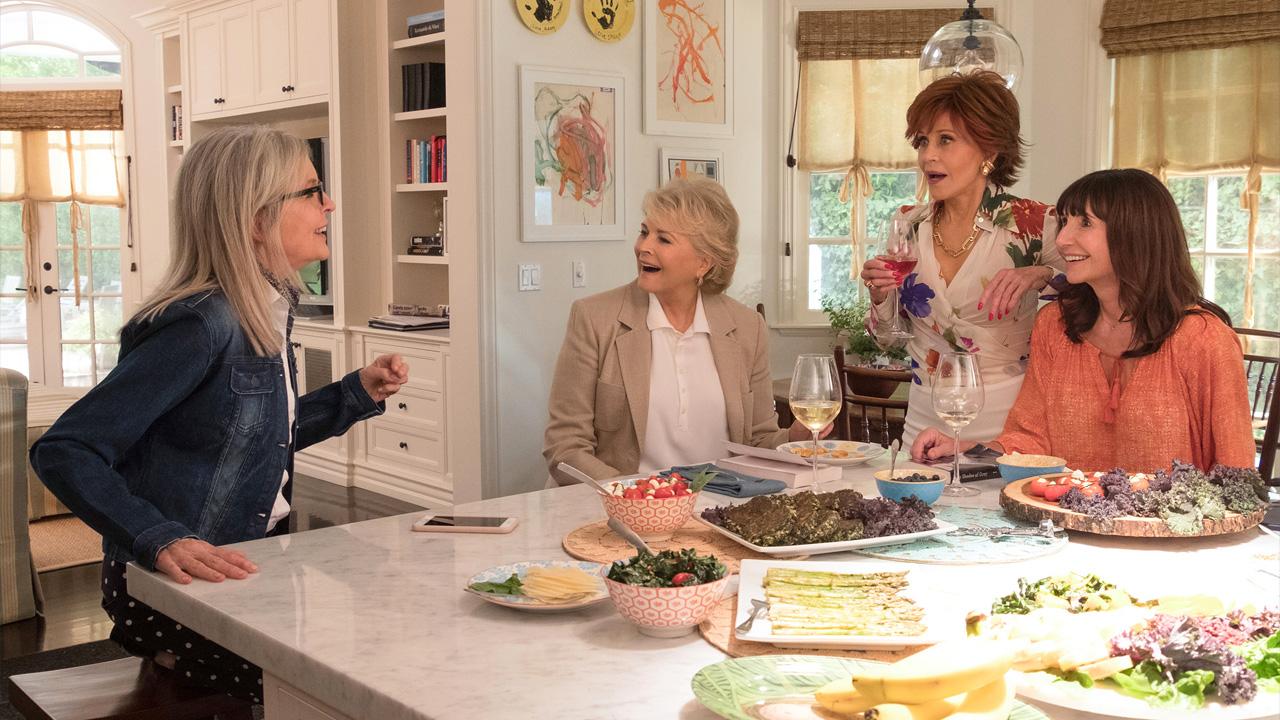 In foto Diane Keaton (74 anni) Dall'articolo: Book Club - Tutto Può Succedere, da giovedì 4 aprile al cinema.