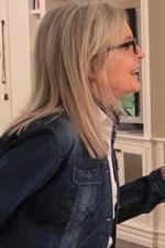 In foto Diane Keaton (73 anni) Dall'articolo: Book Club - Tutto Può Succedere, da giovedì 4 aprile al cinema.
