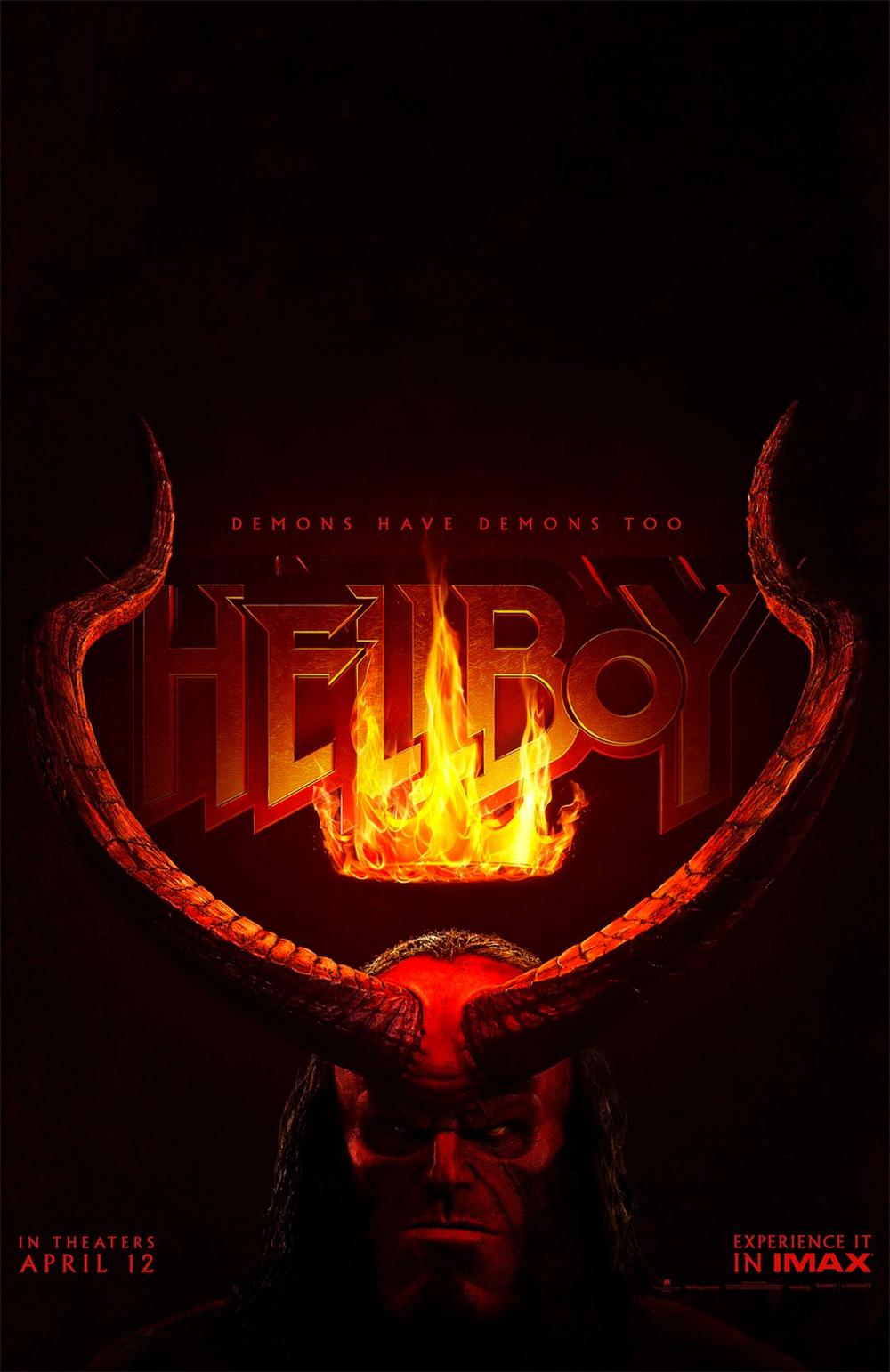 -  Dall'articolo: Hellboy, il poster originale del film.