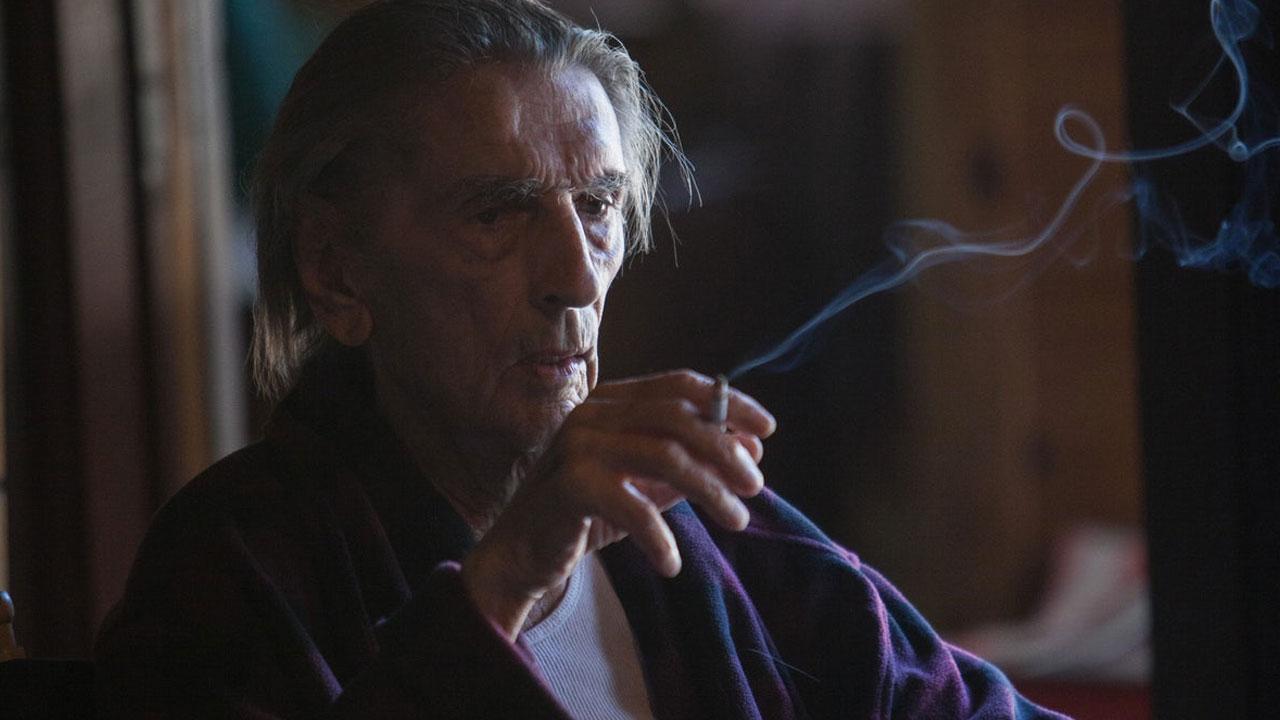 In foto Harry Dean Stanton Dall'articolo: Lucky, su IBS il dvd di un ritratto agrodolce della senilità con il grande attore Harry Dean Stanton.