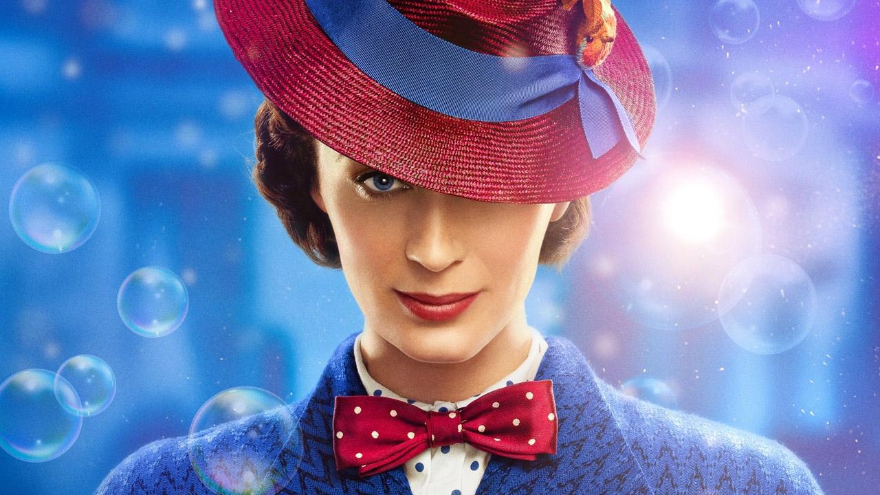 In foto Emily Blunt (38 anni) Dall'articolo: Mary Poppins nuovo leader del box office: spodestati i Queen.