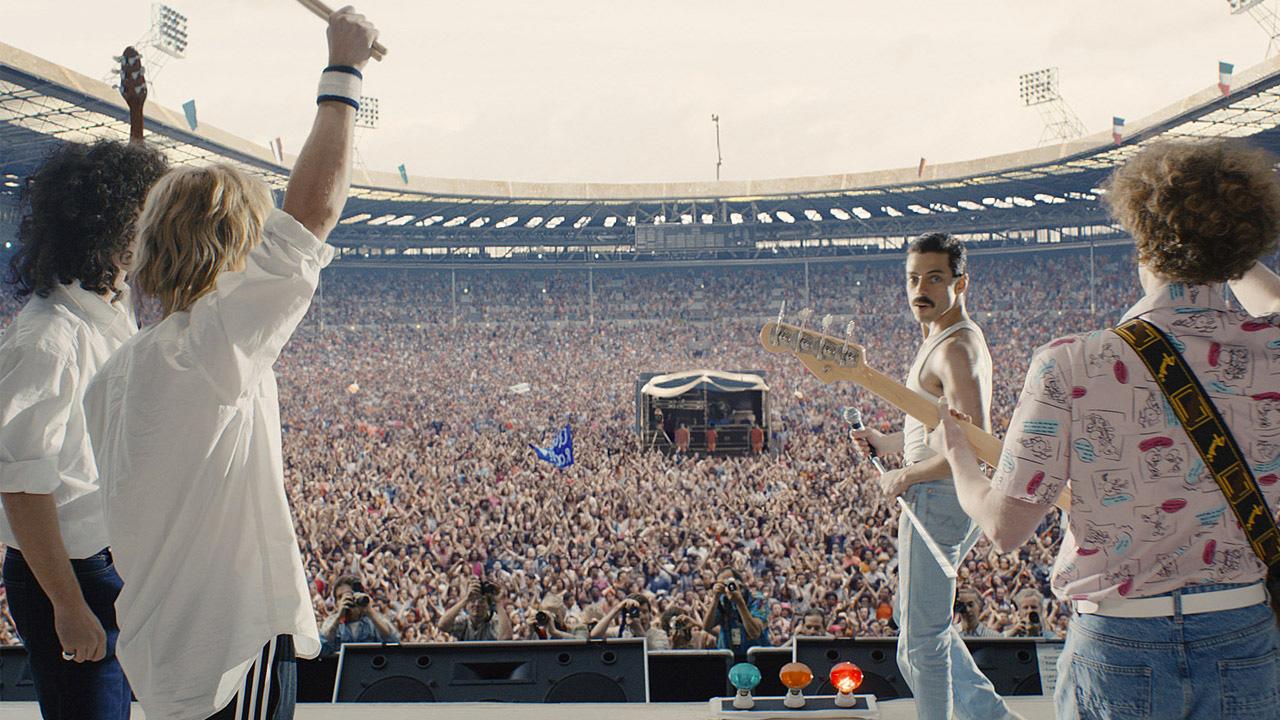 In foto Rami Malek (40 anni) Dall'articolo: Bohemian Rhapsody è il miglior incasso dell'intero anno solare 2018.