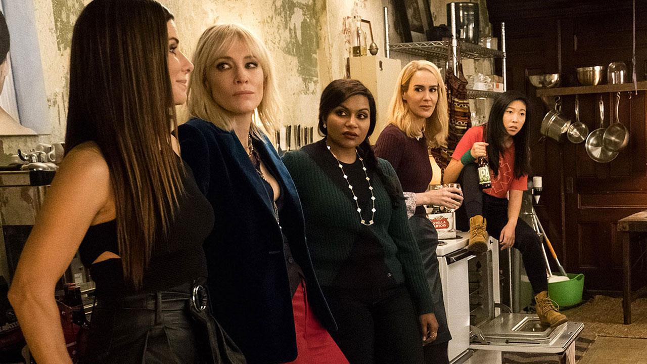 In foto Cate Blanchett (51 anni) Dall'articolo: Ocean's 8, su Infinity Premiere un'eccentrica banda di donne truffatrici.